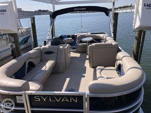 Used Sylvan Mirage 8522 Cruise N Fish Pontoon Boat For Sale