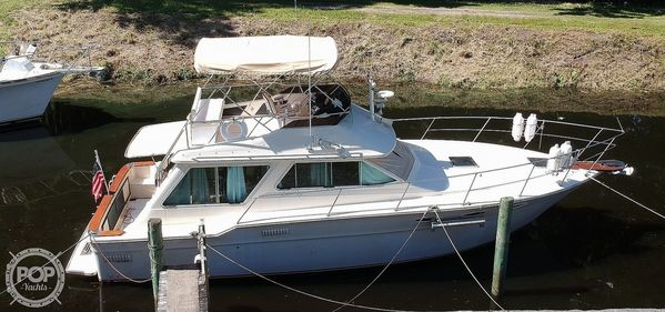 Used Sea Ray 355T Sports Fishing Boat For Sale