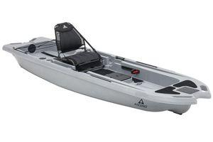 New Ascend 133X Yak-Power Sit-On - Titanium Kayak Boat For Sale