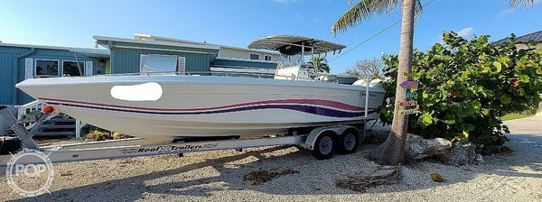 Used Baja 28 Fisherman Center Console Fishing Boat For Sale