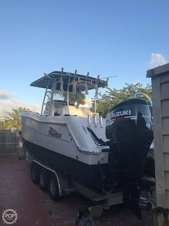 Used Prokat 2660 CC Power Catamaran Boat For Sale