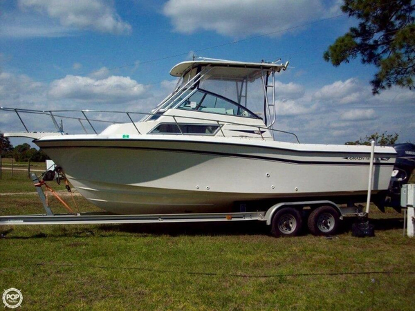 Used Grady-White 252 Sailfish/SportBridge GT Walkaround Fishing Boat For Sale