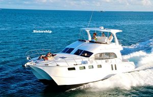 Used Naval Yachts 50 Yacht Cat Power Catamaran Boat For Sale