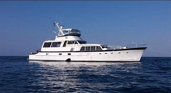 Used Burger Cockpit Flybridge Motor Yacht Motor Yacht For Sale