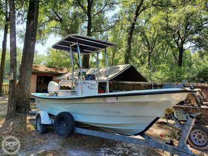 Used Panga Super Skiff 20 Skiff Fishing Boat For Sale