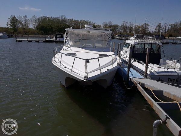 Used Prokat 3660 Sport Fish Power Catamaran Boat For Sale