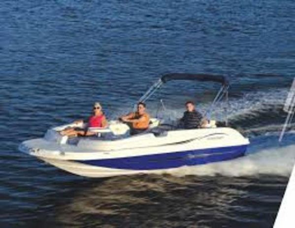 Used Starcraft 2000 Limited Deck Boat For Sale