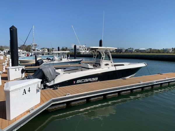 Used Wellcraft 30 Scarab Offshore Tournament Center Console Fishing Boat For Sale