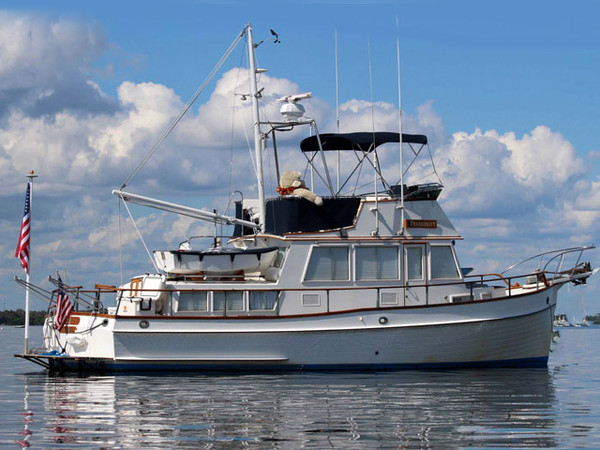 1987 used grand banks 36 classic trawler boat for sale for Grand banks motor yachts for sale