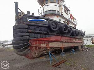 Used 52' Steel Tug Boat Larose Louisiana Built Tug Boat For Sale
