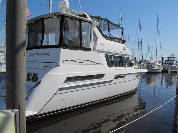 Used Carver 405 Aft Cabin Aft Cabin Boat For Sale