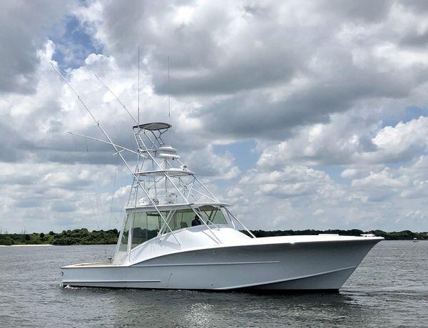 Used Hudson Custom Carolina Express Sports Fishing Boat For Sale