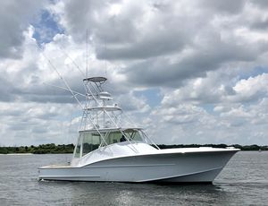 Used Hudson Custom Carolina Express Sports Fishing Boat For Sale
