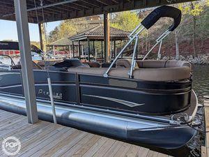 Used Premier Pontoons 250 Grand Majestic RF Pontoon Boat For Sale