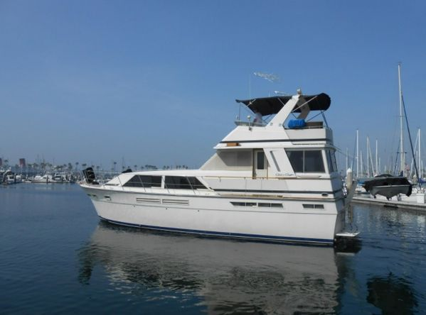 Used Chris-Craft Constellation Pilothouse Boat For Sale