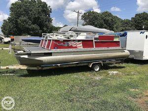 Used Maurell 21 Pontoon Boat For Sale