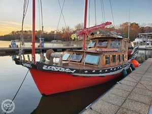 Used Chinese Junk 36 Antique and Classic Sailboat For Sale