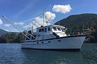Used Tayana 42 Trawler Boat For Sale
