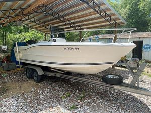 Used Clearwater 20 Center Console Fishing Boat For Sale