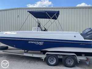 Used Starcraft Aurora Star Step 229 CC Center Console Fishing Boat For Sale
