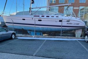 Used Hunter 466 Racer and Cruiser Sailboat For Sale
