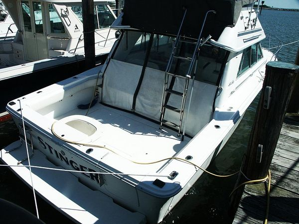 Used Sea Ray Amberjack Sport Bridge Saltwater Fishing Boat For Sale