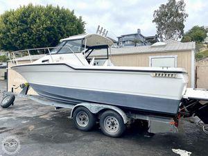Used Trophy 2352 Walk-Around Walkaround Fishing Boat For Sale