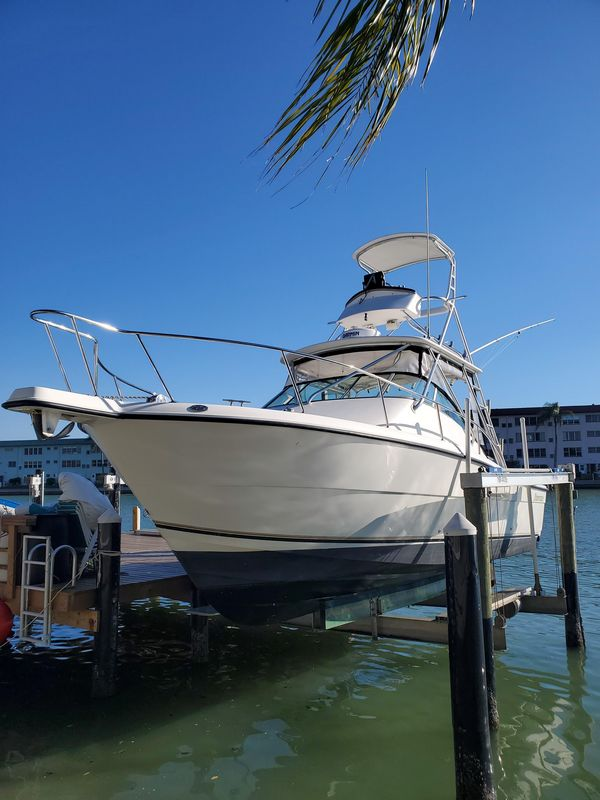 Used Shamrock 290 Offshore Saltwater Fishing Boat For Sale