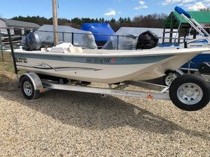 Used Carolina Skiff 18 JVX Ski and Fish Boat For Sale