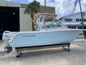 Used Sailfish 245 Dual Console Cruiser Boat For Sale