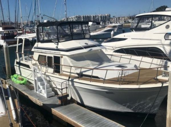 Used Spindrift 46 Aft Cabin Boat For Sale