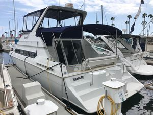Used Carver 38 Santego Saltwater Fishing Boat For Sale