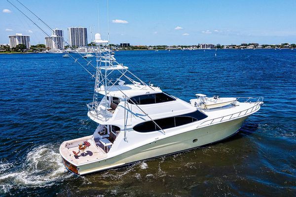 Used Hatteras Enclosed Bridge Convertible Sports Fishing Boat For Sale