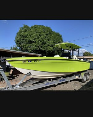 Used Carrera Boats cc Center Console Fishing Boat For Sale