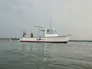Used Lindsey 27 Downeast Commercial Boat For Sale