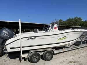 Used Seaswirl 2301 Saltwater Fishing Boat For Sale