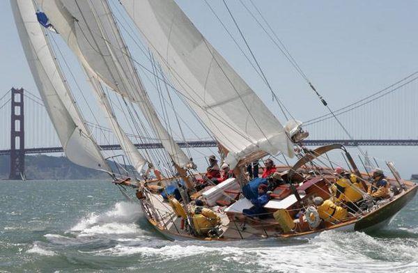 Used Alden Staysail Schooner Sailboat For Sale
