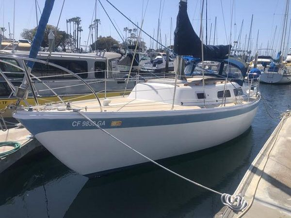 Used Cal 29 Racer and Cruiser Sailboat For Sale