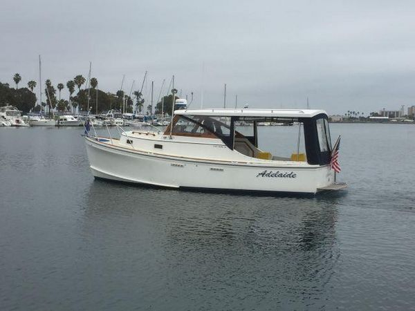 Used Cape Dory Open Fisherman Sports Fishing Boat For Sale