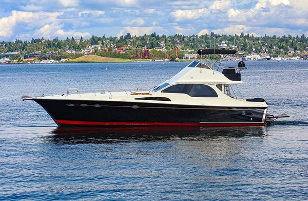 Used Midnight Lace Flybridge Express Flybridge Boat For Sale