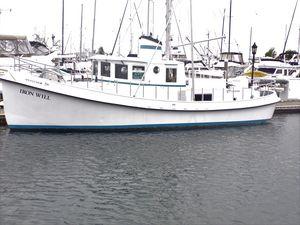 Used Custom Sprague Trawler Boat For Sale