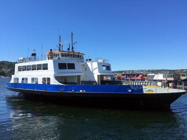 Used Custom Ferry Boat M/V Passenger Boat For Sale