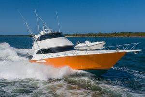 Used Viking Enclosed Bridge Sports Fishing Boat For Sale