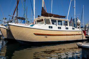 Used Fisher Pilot House Catamaran Sailboat For Sale