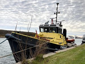Used Tugboat Custom - Fire Tug Boat For Sale