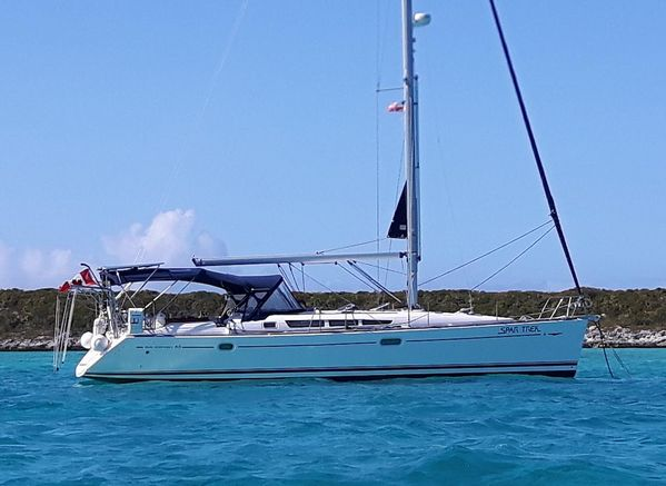 Used Jeanneau 45 Sun Odyssey Shoal Draft Sloop Sailboat For Sale