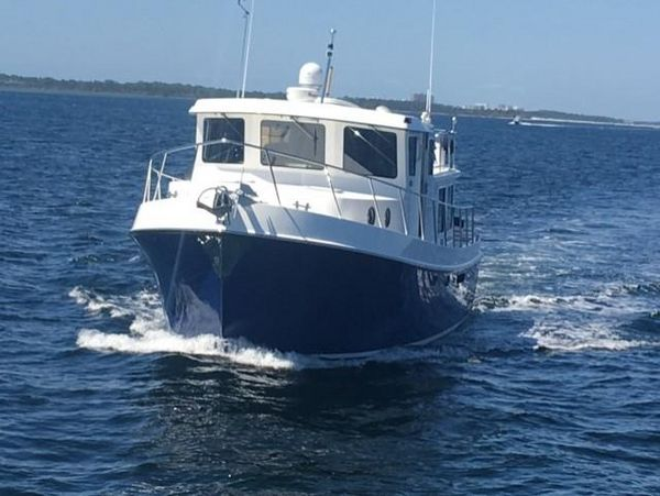 Used American Tug 41 Pilothouse Tug Trawler Tug Boat For Sale