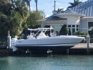 Used Intrepid 327 Cuddy Center Console Fishing Boat For Sale