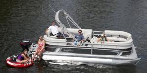 New Sunchaser Vista 20 LR Pontoon Boat For Sale
