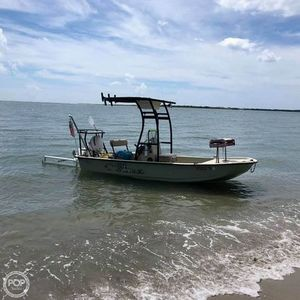 Used Pawley's Island Custom Skiff Santee Skiff 171 Center Console Fishing Boat For Sale